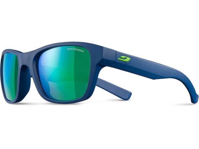 Julbo Reach Spectron 3CF Sunglasses Junior 6-10Y Dark Blue/Green-Multilayer Green